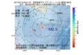 地震震源マップ:2017年07月19日 09時41分 青森県東方沖 M2.5