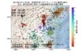 地震震源マップ:2017年07月19日 11時24分 茨城県北部 M2.5