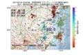 地震震源マップ:2017年07月19日 16時25分 茨城県南部 M2.8