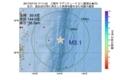 地震震源マップ:2017年07月19日 17時11分 三陸沖 M3.1