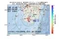 地震震源マップ:2017年07月19日 19時33分 鹿児島湾 M2.5