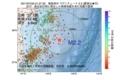 地震震源マップ:2017年07月20日 01時27分 福島県沖 M2.2