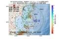 地震震源マップ:2017年07月20日 04時06分 宮城県沖 M2.8