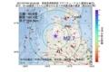 地震震源マップ:2017年07月20日 05時05分 青森県津軽南部 M2.7