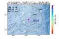 地震震源マップ:2017年07月20日 09時02分 八丈島東方沖 M3.6