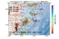地震震源マップ:2017年07月20日 09時11分 福島県沖 M6.1