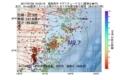 地震震源マップ:2017年07月20日 10時03分 福島県沖 M2.7