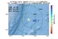 地震震源マップ:2017年07月20日 14時36分 福島県沖 M2.7