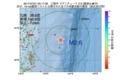 地震震源マップ:2017年07月21日 00時17分 三陸沖 M2.6