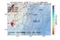地震震源マップ:2017年07月21日 00時35分 日向灘 M3.2