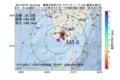 地震震源マップ:2017年07月21日 02時40分 薩摩半島西方沖 M3.6