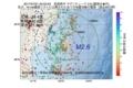 地震震源マップ:2017年07月21日 03時53分 宮城県沖 M2.6