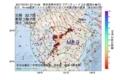 地震震源マップ:2017年07月21日 07時14分 熊本県熊本地方 M2.9