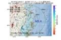 地震震源マップ:2017年07月21日 08時49分 岩手県沖 M3.4