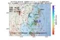 地震震源マップ:2017年07月21日 08時54分 宮城県沖 M2.6