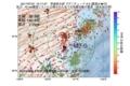 地震震源マップ:2017年07月21日 12時17分 茨城県北部 M2.0