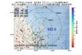 地震震源マップ:2017年07月21日 14時55分 岩手県沖 M3.6
