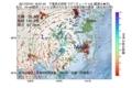 地震震源マップ:2017年07月21日 16時07分 千葉県北西部 M4.8
