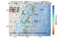 地震震源マップ:2017年07月21日 19時01分 宮城県沖 M2.7