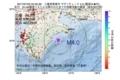 地震震源マップ:2017年07月22日 04時55分 三重県南東沖 M4.0
