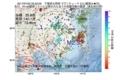 地震震源マップ:2017年07月22日 05時22分 千葉県北西部 M2.5