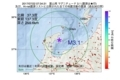 地震震源マップ:2017年07月22日 07時34分 富山湾 M3.1