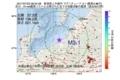 地震震源マップ:2017年07月22日 08時04分 新潟県上中越沖 M3.1