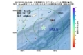 地震震源マップ:2017年07月22日 08時43分 北海道東方沖 M3.5