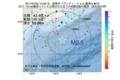 地震震源マップ:2017年07月22日 10時09分 釧路沖 M2.5