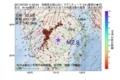 地震震源マップ:2017年07月22日 11時02分 宮崎県北部山沿い M2.9