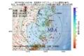 地震震源マップ:2017年07月22日 14時57分 宮城県沖 M3.4