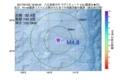地震震源マップ:2017年07月22日 18時29分 八丈島東方沖 M4.8