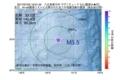 地震震源マップ:2017年07月22日 19時01分 八丈島東方沖 M3.5