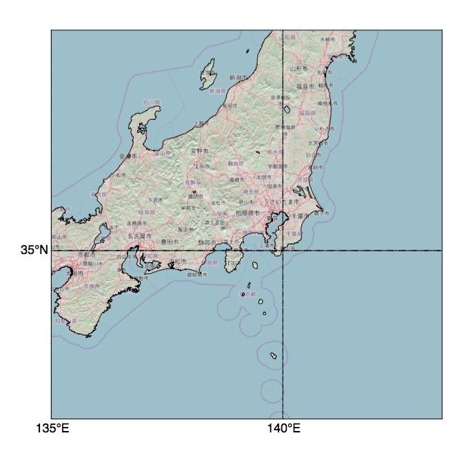 日本拡大地図