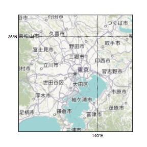Humanitarian map style
