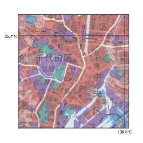 土地利用図