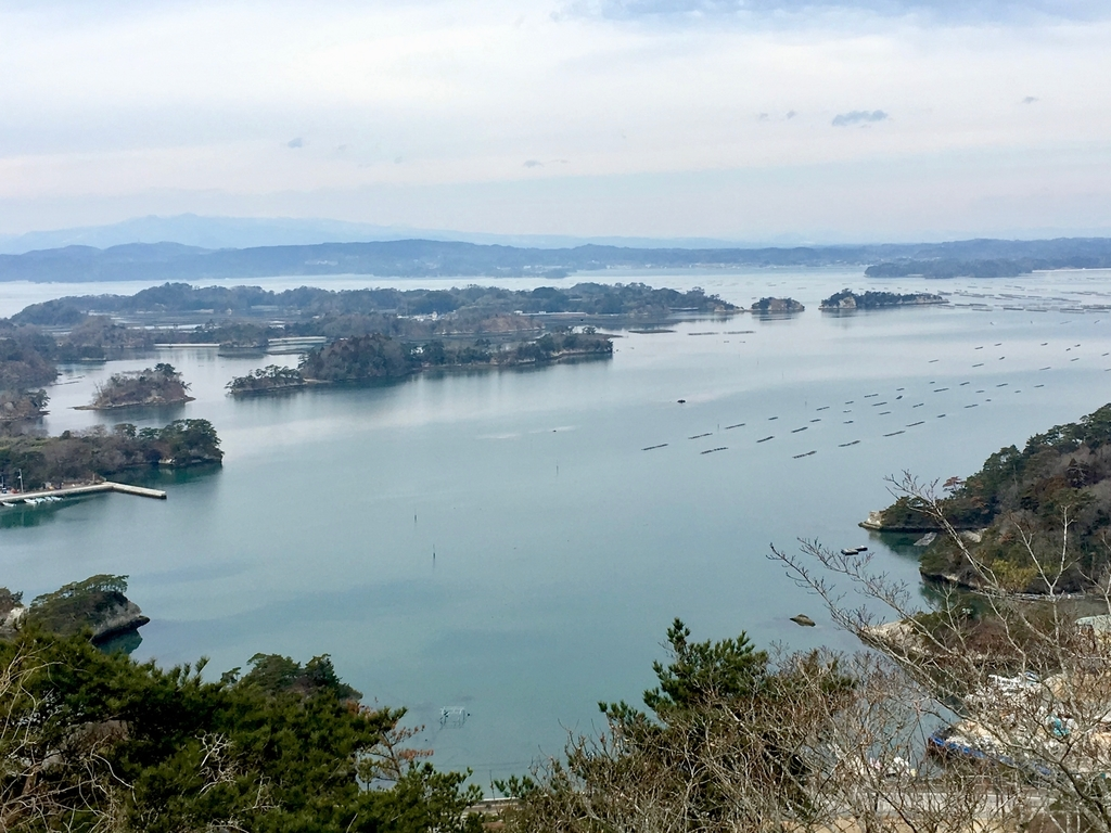 松島四大観「大高森」から見る松島