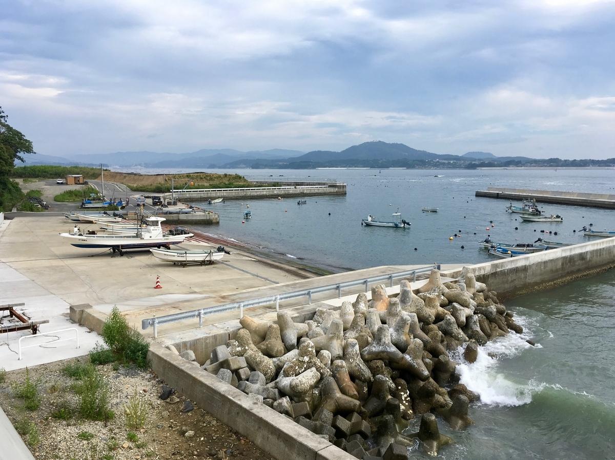 岩井崎から眺める気仙沼大島