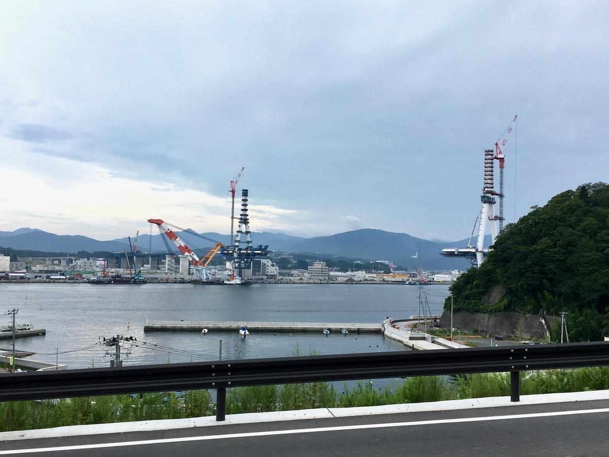 気仙沼湾横断橋