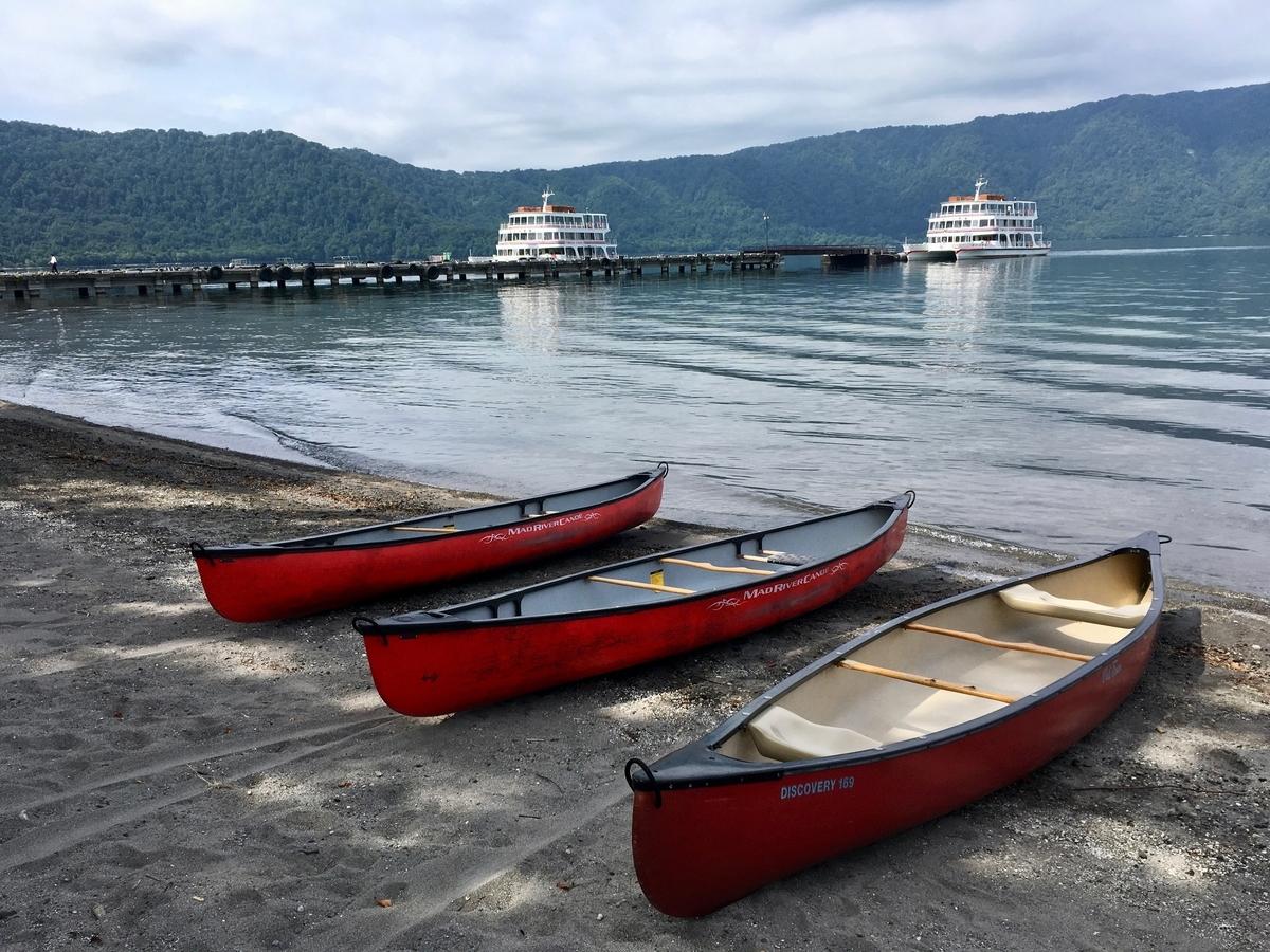 十和田湖遊覧船と貸しボート