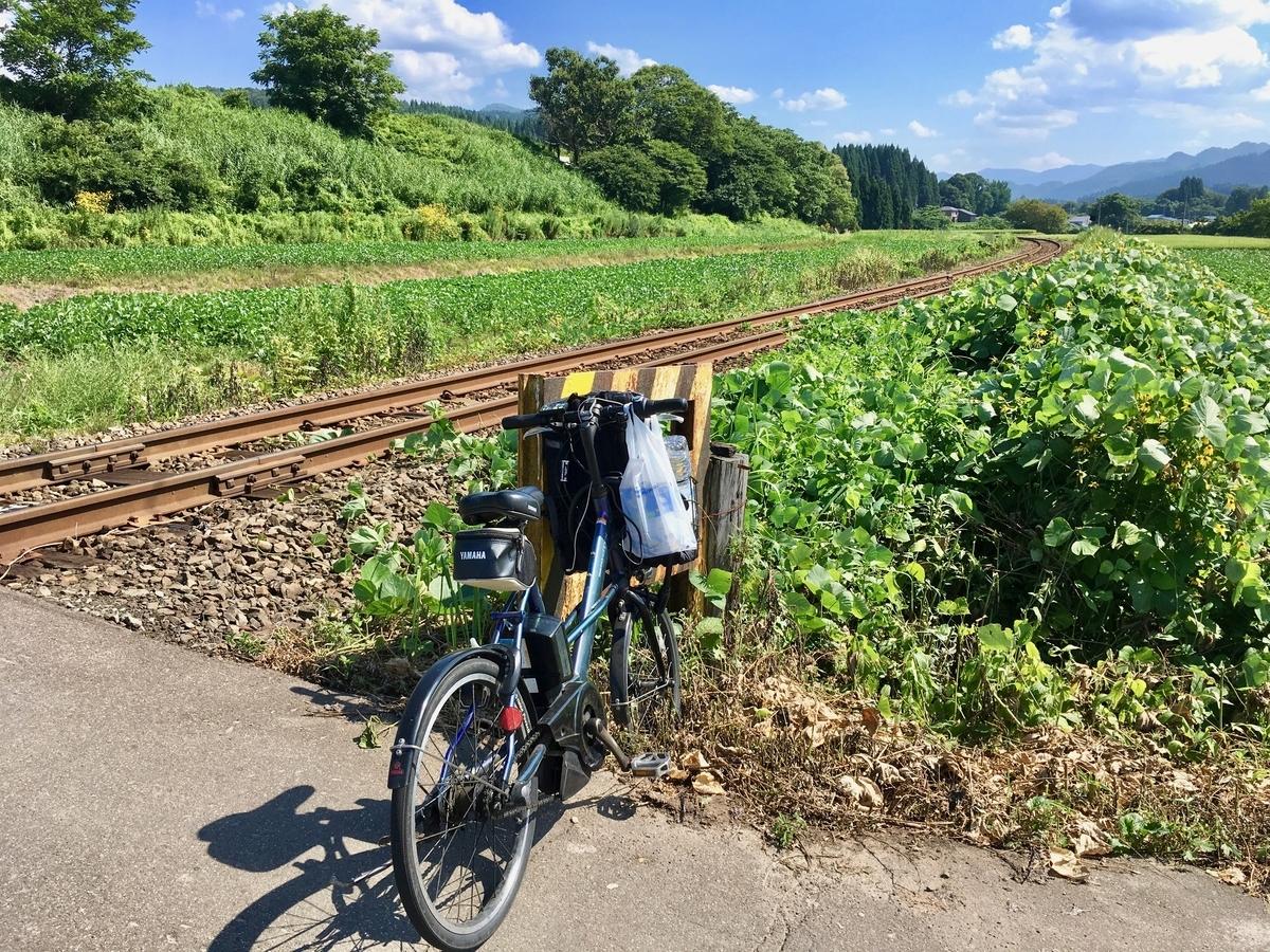 PAS CITY-Xで秋田内陸鉄道沿線を行く
