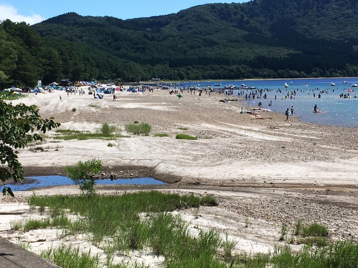 田沢湖遊泳場