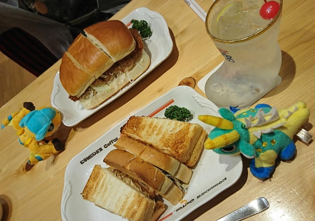 大阪公演でのお昼ご飯
