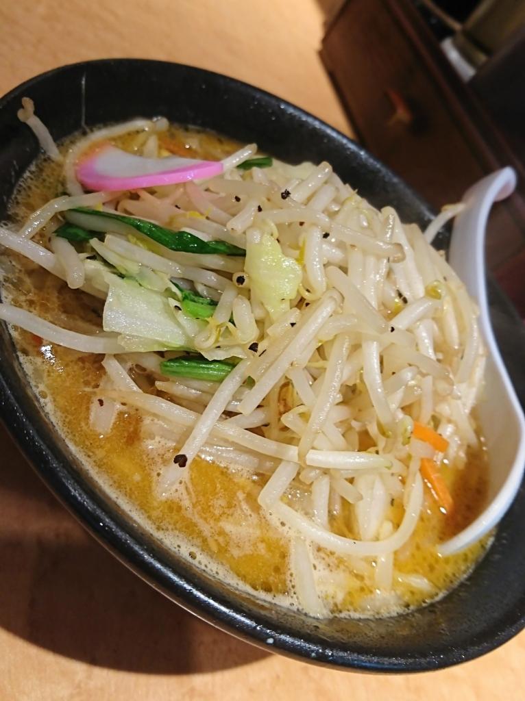 東京タンメン トナリ 味噌タンメン