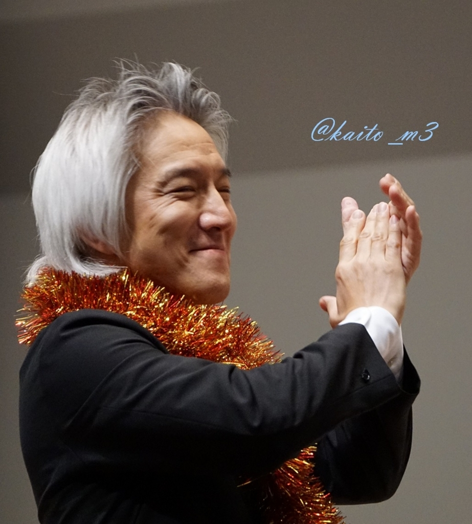 bra★braで指揮をする栗田博文さん