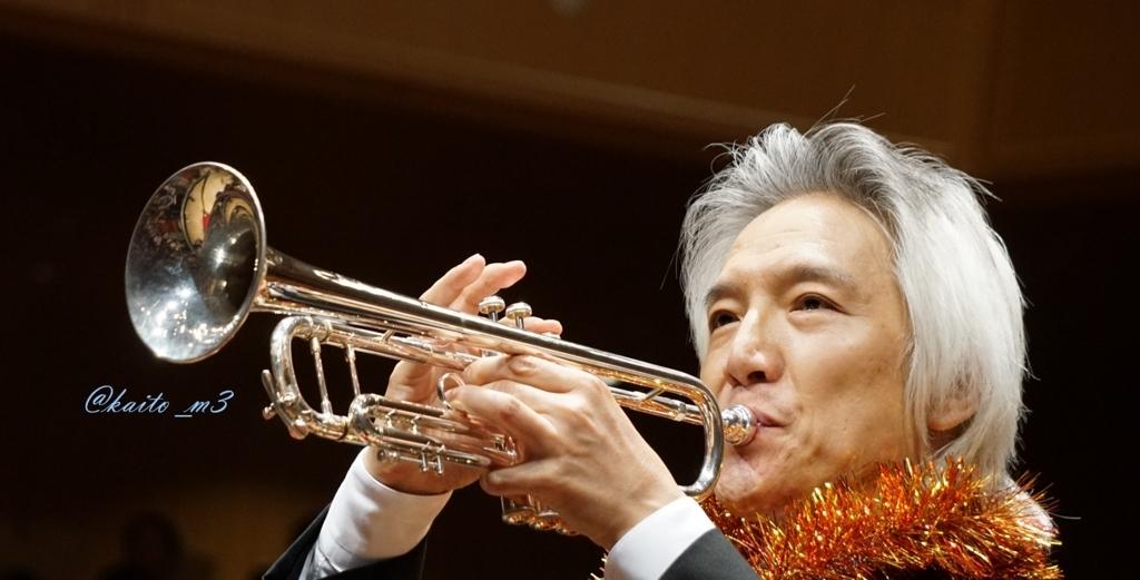 bra★braでトランペットを演奏する栗田博文さん
