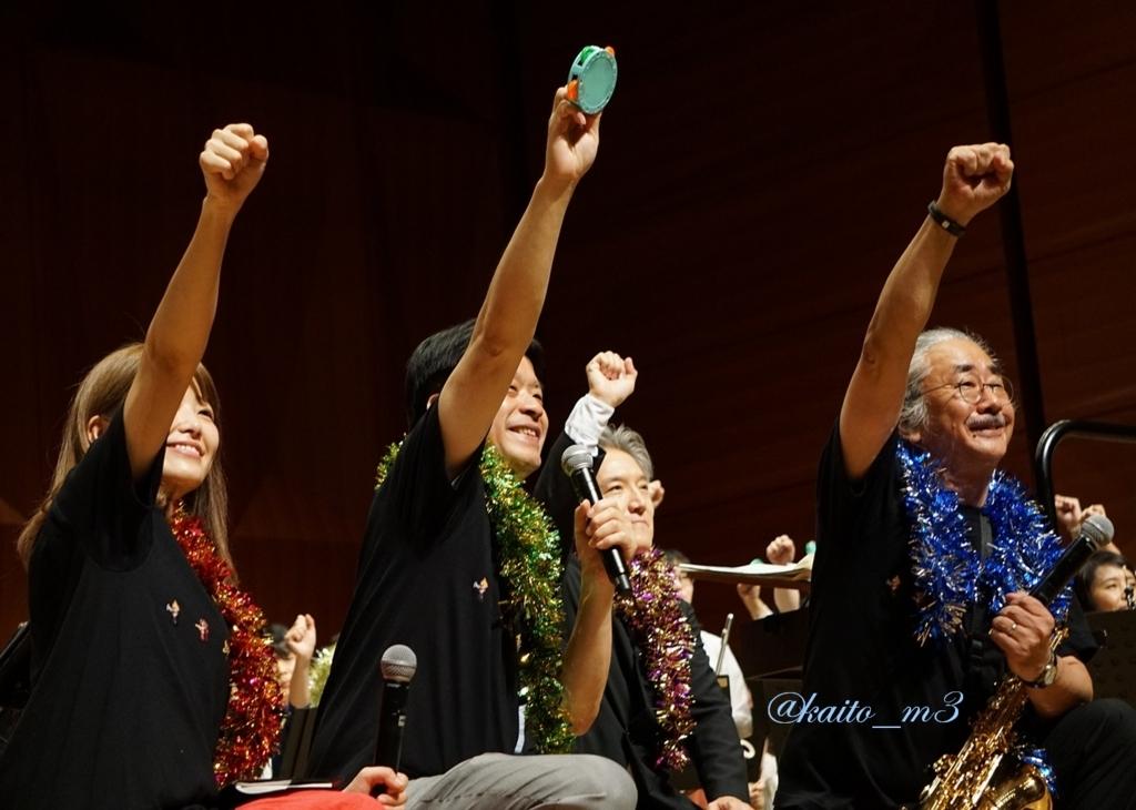 bra★braでの山下まみさんと北瀬佳範さんと栗田博文さんと植松伸夫さん