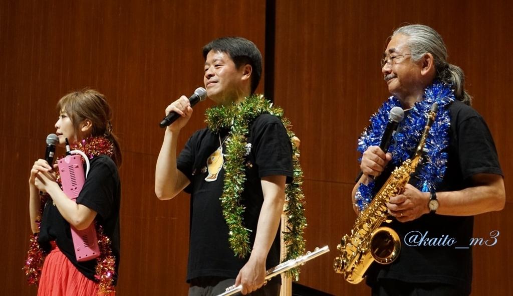 bra★braでの山下まみさんと北瀬佳範さんと植松伸夫さん