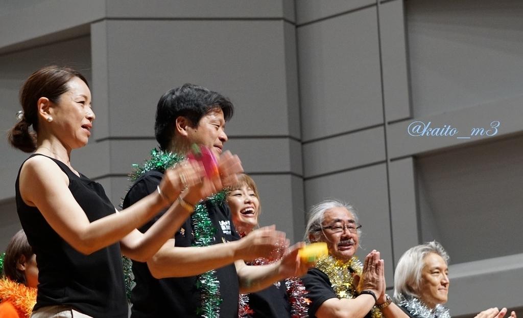 bra★braでの渋谷員子と北瀬佳範と山下まみと植松伸夫と栗田博文