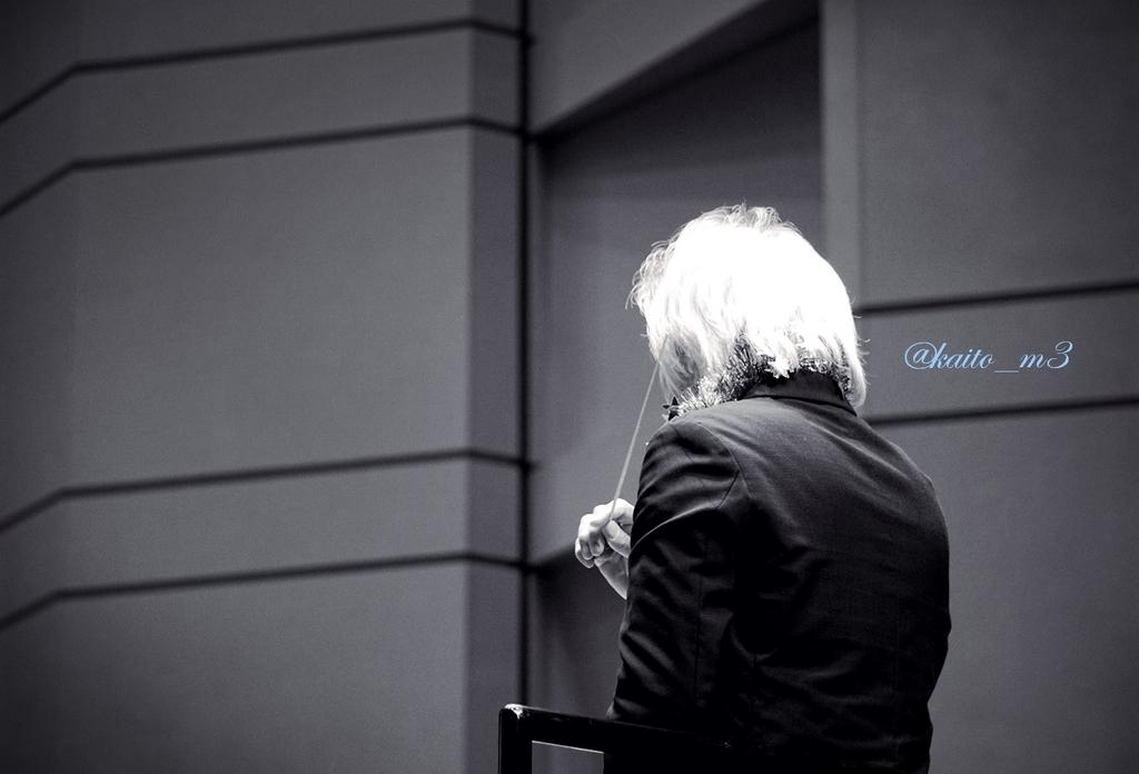 BBFF2018東京公演1回目で指揮をする栗田博文さん